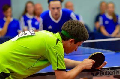 Come impugnare racchetta ping pong