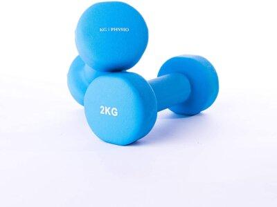 KG Physio - Migliori manubri fissi da 1 kg