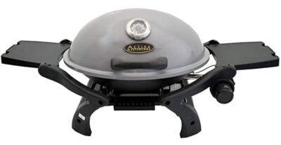 Activa - Migliore barbecue da tavolo professionale per 4 ripiani e ganci