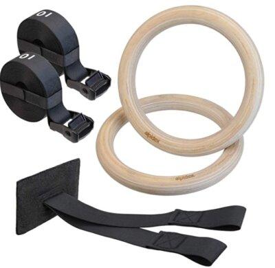 ALPIDEX - Migliori anelli da ginnastica per cinghie in nylon