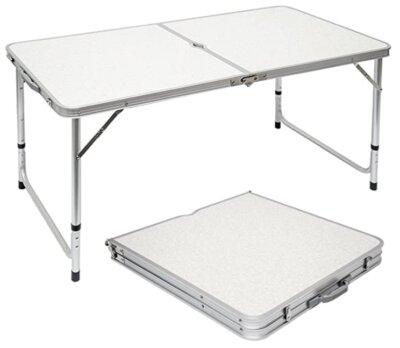 AMANKA - Migliore tavolino pieghevole da campeggio per lunghezza 120 cm