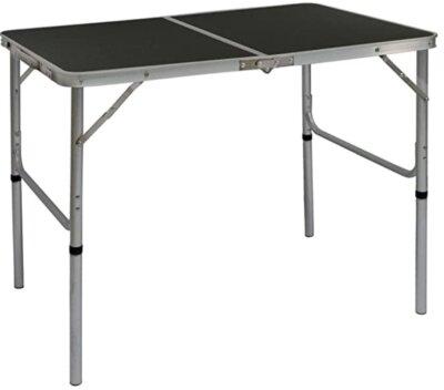 AMANKA - Migliore tavolino pieghevole da campeggio per regolabile a due altezze