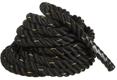 AmazonBasics - Migliore corda battle rope da 3,8 cm di spessore