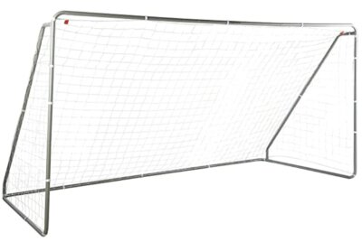 AmazonBasics - Migliore porta da calcio per telaio in acciaio verniciato a polvere