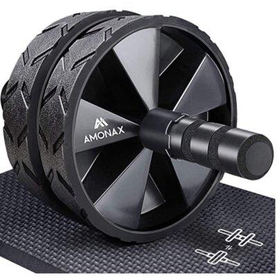 amonax - migliore ruota per addominali per struttura in acciaio inossidabile