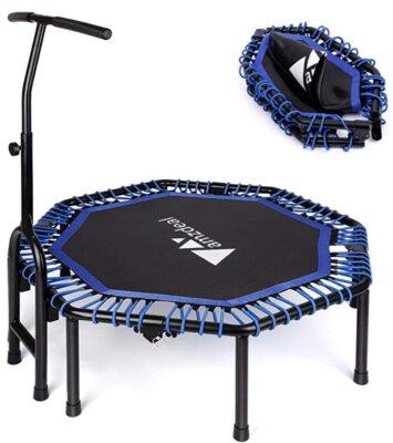 amzdeal - Migliore mini trampolino elastico da fitness per corda ad alta elasticità