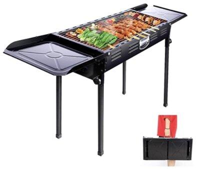 Anzid - Migliore barbecue da giardino pieghevole a valigetta