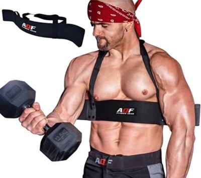tavola da Allenamento per bicipiti e tricipiti Lanmei Arm Blaster isolatore per Braccio per Sollevamento Pesi Fitness con Cuscinetti in Schiuma ad Alta densit/à per Un Allenamento Sicuro
