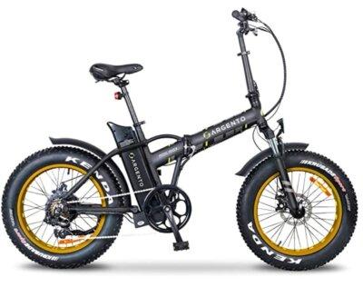 Argento - Migliore bici elettrica pieghevole per ruote fat