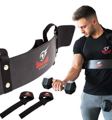 ARMAGEDDON SPORTS - Migliore arm blaster per cinghie regolabili
