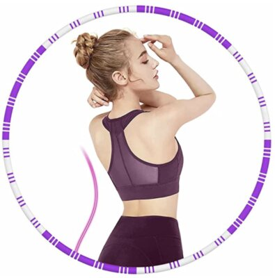 Azanaz - Migliore hula hoop per peso regolabile