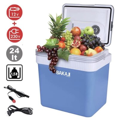 Bakaji - Migliore frigo portatile da campeggio per basse vibrazioni e rumorosità