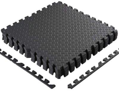 BAKAJI - Migliore pavimento in gomma per palestra per comfort