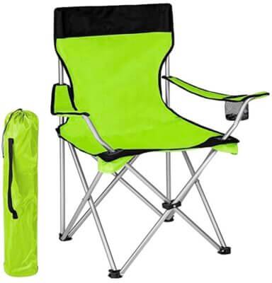 Bakaji - Migliore sedia pieghevole da campeggio per sistema a fisarmonica