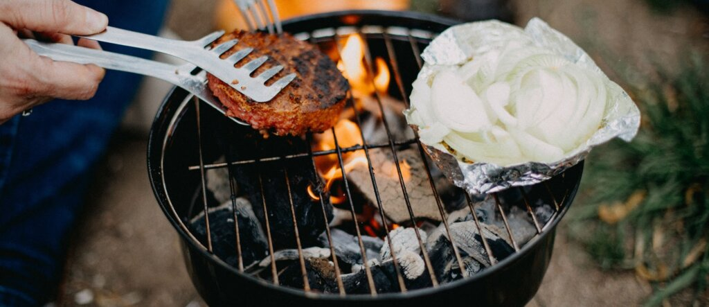 barbecue da giardino
