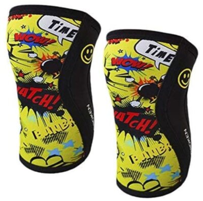 BB BANBROKEN - Migliore ginocchiere da crossfit per fantasia in stile fumetto