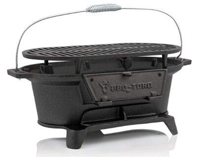 BBQ-Toro - Migliore barbecue da tavolo professionale in ghisa