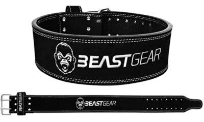 Beast Gear - Migliore cintura per sollevamento pesi per rivetti a vite