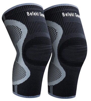 Befekt Gears - Migliori ginocchiere da crossfit per strisce ondulate in silicone antiscivolo