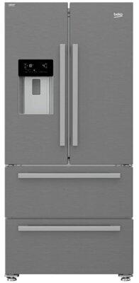 Beko GNE60530DXN - Migliore frigorifero Beko side by side per 2 cassetti freezer