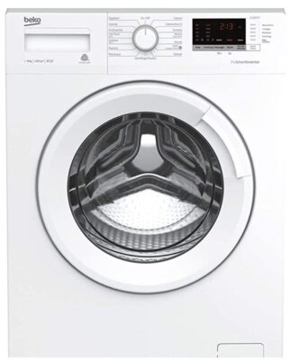 Beko WTX81232WI - Migliore lavatrici da 8 kg per semplice eliminazione di macchine e pieghe
