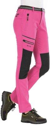 BenBoy - Migliori pantaloni da trekking da donna di colore rosa acceso