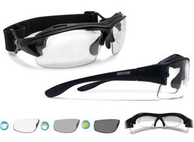 Bertoni - Migliori occhiali da ciclismo per lenti fotocromatiche fotosensibili antiappannanti