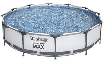 Bestway - Migliore piscina da giardino fuori terra per rivestimento interno in mosaico di silice