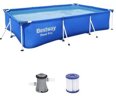 Bestway - Migliore piscina da giardino fuori terra per semplice scarico dell'acqua