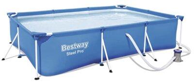 Bestway - Migliore piscina da giardino fuori terra per semplicità di drenaggio dell'acqua