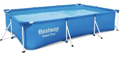 Bestway - Migliore piscina da giardino fuori terra per sistema Frame Link antiruggine