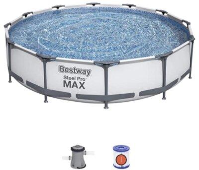 Bestway - Migliore piscina da giardino fuori terra per valvola di scarico con controllo del flusso