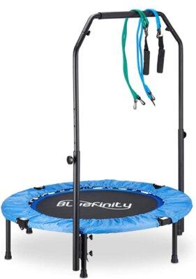 Bluinfinity - Migliore mini trampolino elastico da fitness per espansori a molla