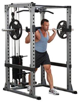 BodySolid - Migliore power rack per carico massimo