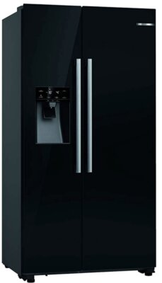 Bosch KAD93VBFP Serie 6 - Migliore frigorifero Bosch side by side colore nero e dispenser