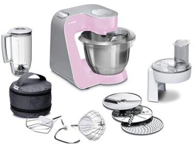 Bosch MUM58K2 - Migliore robot da cucina Bosch per colore argento e rosa