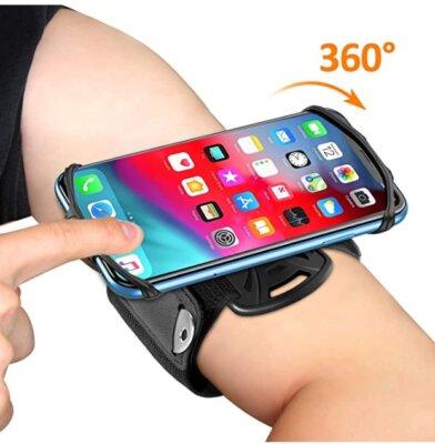 Bovon - Migliore fascia da braccio per running per rotazione a 360°