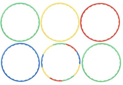 Bramble - Migliore hula hoop in set da 6