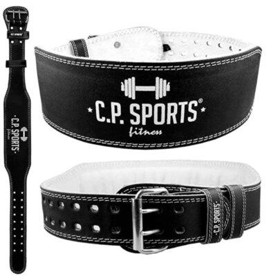 C.P.Sports - Migliore cintura per sollevamento pesi per doppia chiusura