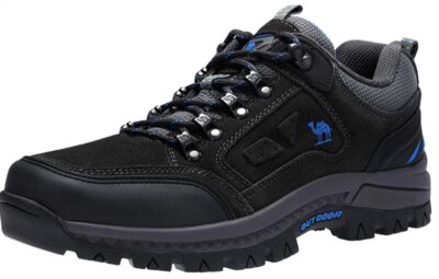 CAMEL CROWN Unisex - Migliori scarpe da trekking per tomaia in pelle bovina