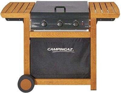 Campingaz Adelaide 3 Woody Dual Gas - Migliore barbecue Campingaz a gas per doppia alimentazione a metano e GPL