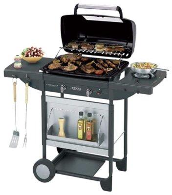 Campingaz - Migliore barbecue americano per coperchio in acciaio con finestra e termometro