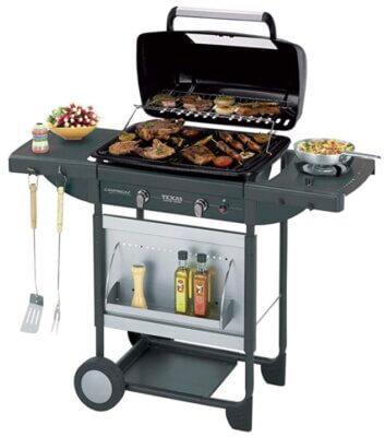 Campingaz Texas Re.volution - Migliore barbecue Campingaz a gas per altezza di cottura 90 cm
