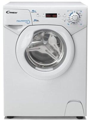 Candy AQUA 1042D1-S - Migliore lavatrice Candy 4 kg per piccoli spazi con centrifuga a 1000 giri al minuto