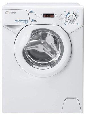 Candy Aqua 1142D1 - Migliore lavatrice Candy 4 kg per piccoli spazi con centrifuga a 1100 giri al minuto