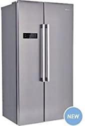 Candy CXSN172IXH - Migliore frigorifero Candy side by side per design essenziale