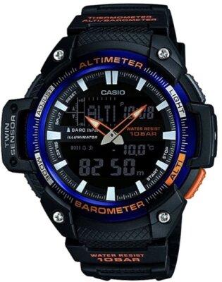 Casio - Migliore orologio GPS da montagna per rivestimento fluorescente lancette e cifre