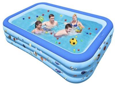 Chalpr - Migliore piscina gonfiabile per famiglie numerose