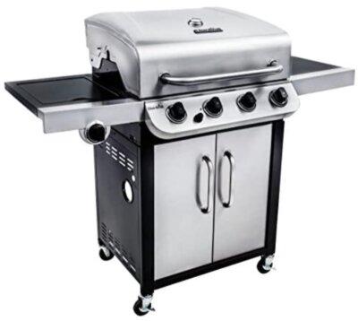 Char-Broil - Migliore barbecue americano per fuochi resistenti e durevoli