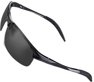 CHEREEKI - Migliori occhiali da running per cerniera flessibile
